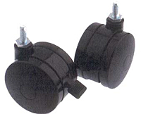 GB Series UTW Unhooded and Brake Casters
