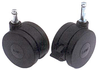 SH Series UTW Unhooded and Brake Casters